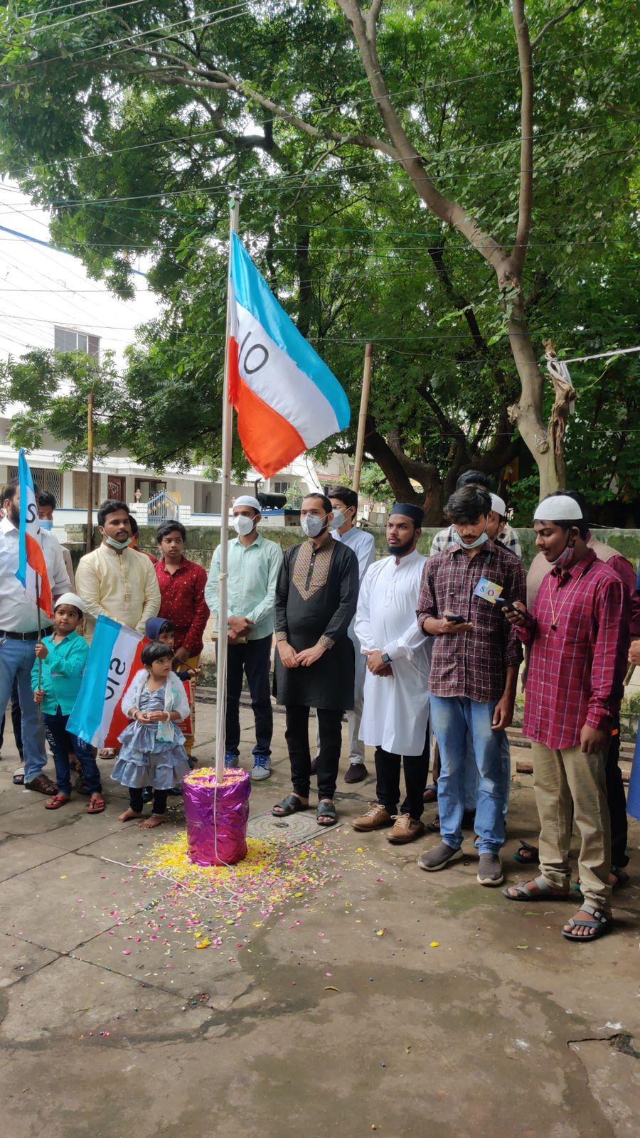 SIO National President Br. Salman Ahmad's Organizational visit to Andhra Pradesh